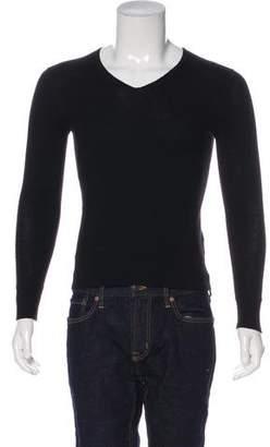 John Varvatos Wool V-Neck Sweater
