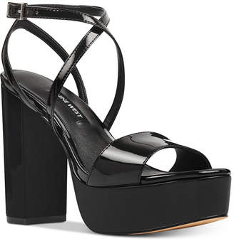 Nine West Markando Platform Dress Sandals Women's Shoes