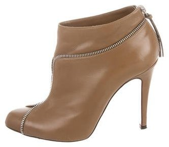 Christian Louboutin Christian Louboutin Colizip Leather Booties