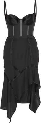 Olivier Theyskens Deconstructed Corset Dress