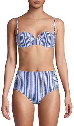 Tart Women's Aubrie Two-Tone Bikini Top