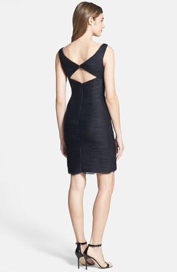 Monique Lhuillier ML Bridesmaids Shirred Tulle Dress (Nordstrom Exclusive)