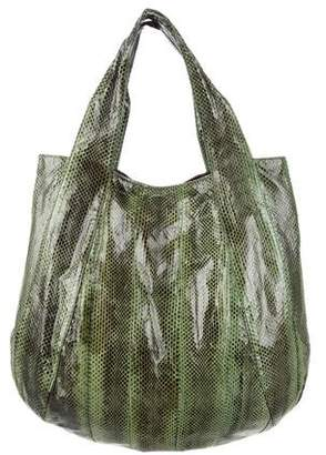 Beirn Snakeskin Hobo Bag