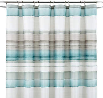 STUDIO BY JCP HOME StudioTM Watercolor Stripe Shower Curtain