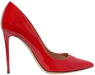 105mm Fiore Patent Leather Pumps $472 thestylecure.com