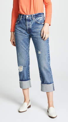 Moussy VINTAGE MV Celina Cropped Straight Jeans