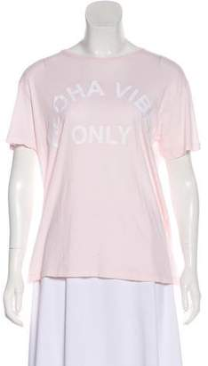 Mikoh Embroidered Short Sleeve T-Shirt w/ Tags