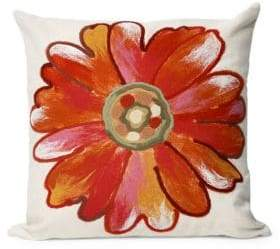 Liora Manné Visions III Daisy Indoor and Outdoor Square Pillow