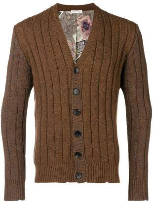 Etro long sleeved cardigan