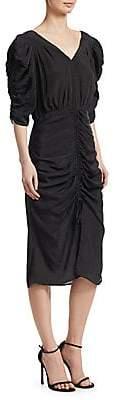 Sea Women's Short Sleeve Ruched Dress