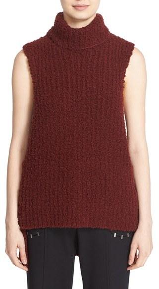 3.1 Phillip Lim Bouclé Knit Wool Blend Top