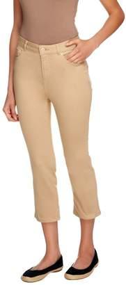 Isaac Mizrahi Live! Petite Icon Grace Crop Jeans
