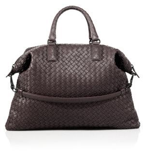 Bottega Veneta Medium Convertible Intrecciato Leather Tote $3,100 thestylecure.com