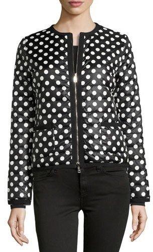 MonclerMoncler Miel Polka-Dot Puffer Jacket