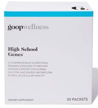Goop High School Genes Dietary Supplements