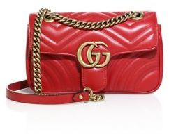 Gucci GG 2.0 Mini Quilted Leather Shoulder Bag $1,590 thestylecure.com