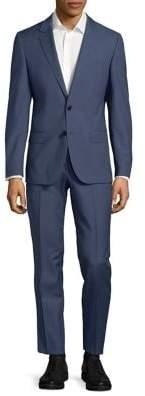 HUGO BOSS Henry Griffin Notch Lapel Wool Suit