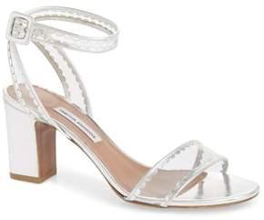 Tabitha Simmons Leticia Clear Ankle Strap Sandal