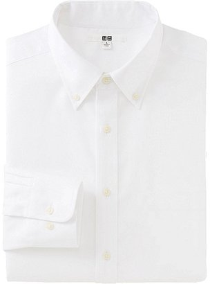 Men Easy Care Oxford Long Sleeve Shirt $34.90 thestylecure.com
