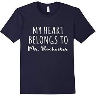 Rochester My Heart Belongs to Mr Jane Eyre Bronte Shirt