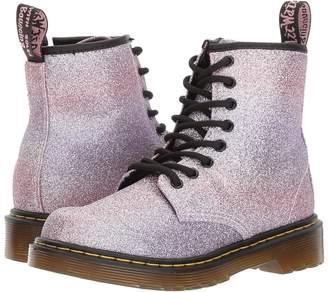 Dr. Martens Kid's Collection 1460 Glitter Junior Delaney Boot Girls Shoes