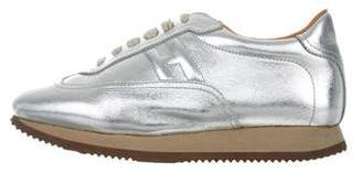 Hermes Quick Metallic Sneakers