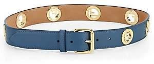 Fendi Women's Logo Leather Belt