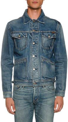 5864da8d917 Tom Ford Men's Four-Pocket Denim Jacket