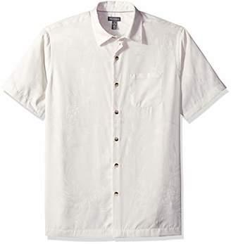 Van Heusen Men's Air Tropical Short Sleeve Button Down Shirt