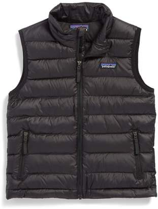 Patagonia 600-Fill Power Down Windproof & Water Resistant Sweater Vest