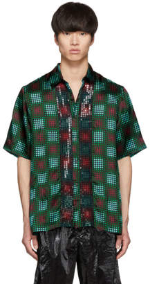 Dries Van Noten Multicolor Sequin Clasen Shirt