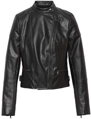 Banana Republic Vegan Leather Moto Jacket