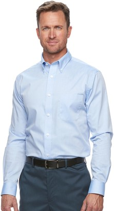 Croft & Barrow Men's Easy-Care Button-Down Collar Dress Shirt
