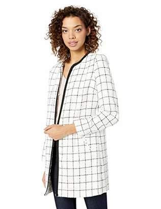 Karl Lagerfeld Paris Women's Tweed Topper