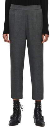 AllSaints Anneka Plaid Ankle Trousers