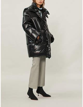 Miu Miu Shell-down puffer coat
