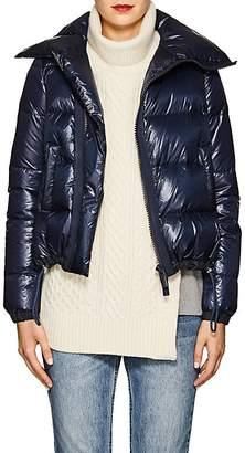 Sacai Women's Asymmetric-Zip Down Tech-Puffer Coat