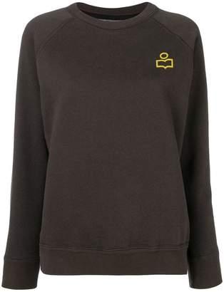 Etoile Isabel Marant logo patch sweatshirt