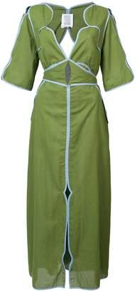 Rosie Assoulin Cut-out Maxi Dress