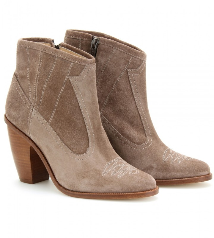 Opening Ceremony COACHELLA SUEDE ANKLE BOOTS