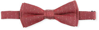 Fore Boys' Pin-Dot Bow Tie