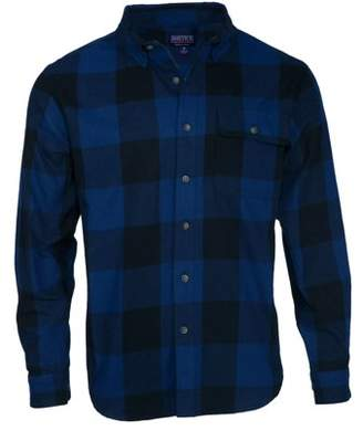 Buffalo David Bitton Smith's Workwear Men's Long Sleeve Plaid One Pocket Flannel Button Up Shirt
