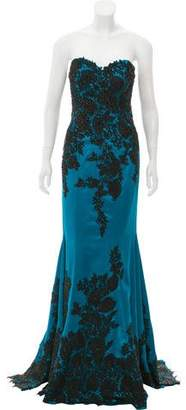 Mac Duggal Embellished Evening Dress