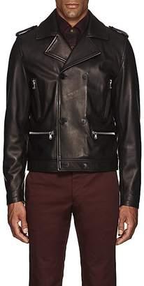 Eidos Men's Leather Biker Jacket