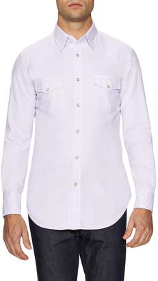 Tom Ford Men's Button Up Sportshirt