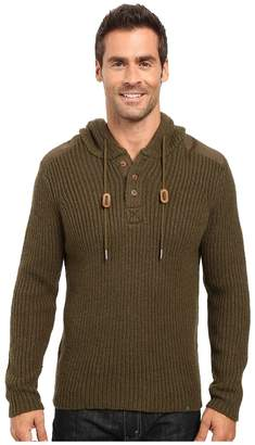 Prana Hooded Henley Sweater Men's Sweater