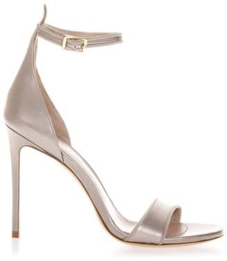 Aldo Castagna Taupe Brecelet Leather Sandals
