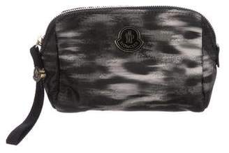 Moncler Printed Cosmetic Bag