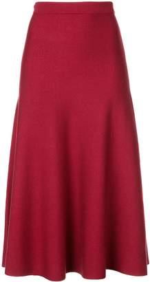 Gabriela Hearst knitted a-line skirt