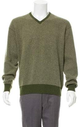 Loro Piana Cashmere Intarsia Sweater